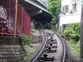 Peak rail line1 - HK - june 2014